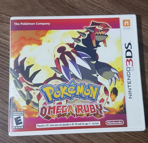 Pokémon Omega Ruby 3ds