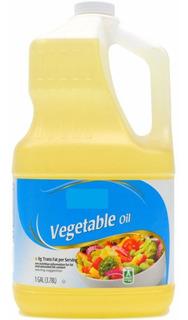 Aceite Vegetal Y De Canola Great Value De 1 Galon 3,78litros