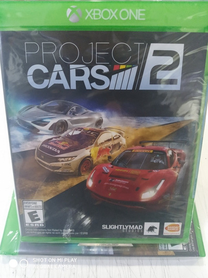 Jogo Project Cars 2 Xbox One Novo Midia Física Lacrado