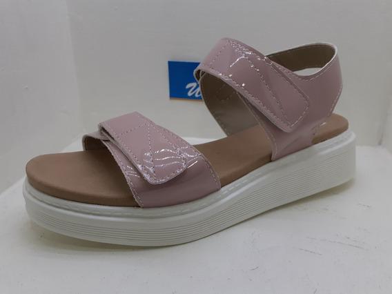 Sandalia Dama Mujer Capellada Regulable Velcro Comodisima