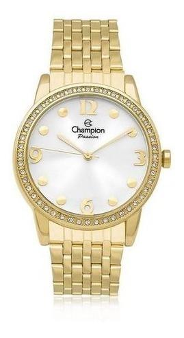 Relógio Feminino Champion Cn27901w + Kit Bijuteria