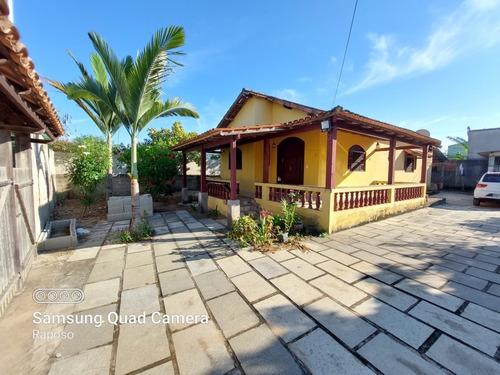 Imagem 1 de 14 de Lindíssima Casa Na Praia De Itaoca-es