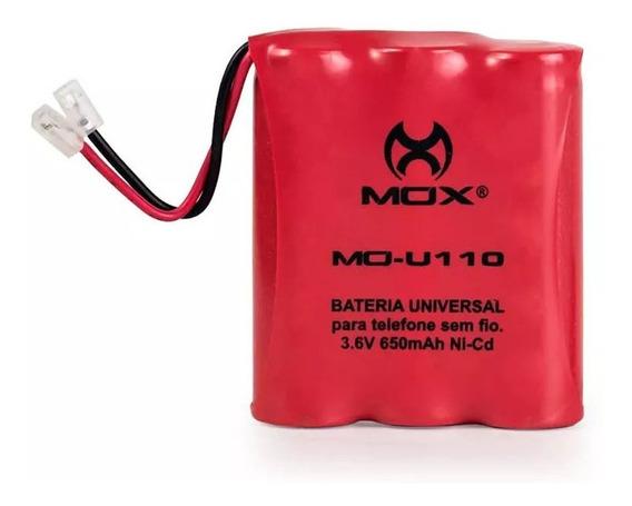 Bateria Mo-u110 (3aa, 3.6v, 650mah) Plug Universal