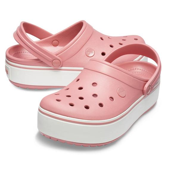 Crocs Band Plataforma Color Rosa