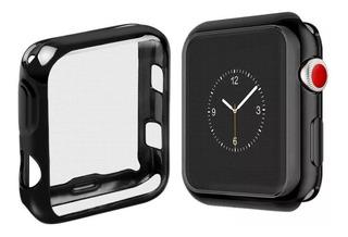 Capinha Bumper Silicone Flexivel Apple Watch 1 2 3 38mm