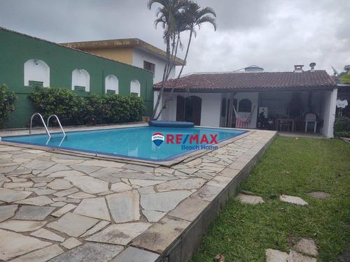 Casa Com 4 Dormitórios À Venda, 550 M² Por R$ 700.000,00 - Enseada - Guarujá/sp - Ca0279