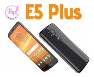 Moto E5 Plus 64+4gb Dual Sim+ Protector Silicón De Regalo
