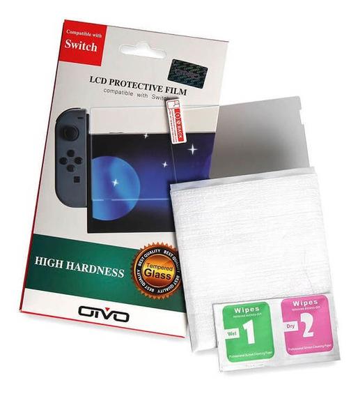 Película Protetora Tela Nintendo Switch Transparente