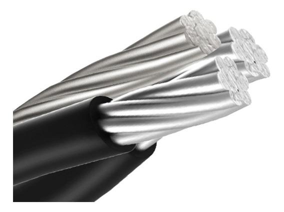 Cable De Acometida 2+1 Cal. 4 (100 Metros)