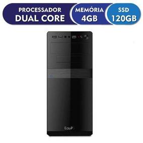 Computador4gb Ssd 120gb - Pc Barato Promoção Cpu Wifi
