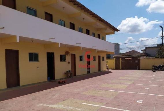 Kitnet, Com Vaga Garagem, Atlântica, Rio Das Ostras, Rj - Kn0018