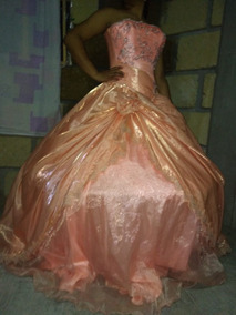 Vestido De Xv Años Color Coral