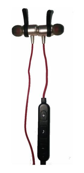 Fone Bluetooth Sportivo Sem Fio Com Imã Atende Chamadas