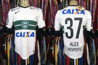 Coritiba 2014 Camisa Titular Tamanho P Número 37 Alex.