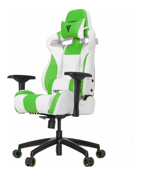 Silla Gamer Vertagear Serie Racing Sl4000 Blanco/verde