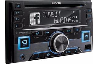 Estereo Alpine Cde-w 265bt Doble Din Cd Usb Bluetooth 3 Rca