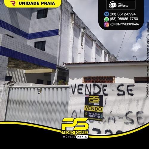 Imagem 1 de 1 de Casa Com 4 Dormitórios À Venda Por R$ 250.000,00 - Centro - João Pessoa/pb - Ca1033