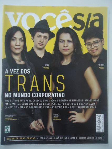 Você Sa #235 Dez-2017 A Vez Dos Trans No Mundo Corporativo