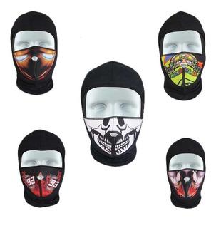 Bufanda Balaclava Protector Mascara Antipolucion Calavera