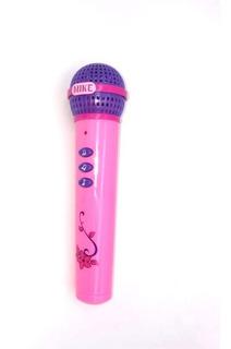 Micrófono Infantil Juguete Sonido Niño Entretenimiento