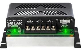 Controlador De Carga Solar 20a 12v/24v Pwm - Volt