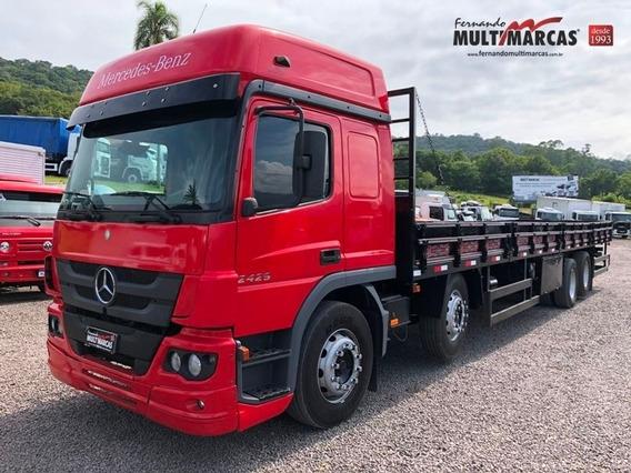 Mercedes Benz Atego 2429 - Bitruck 8x2 Carroceria 11.55m