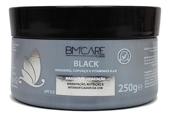 Bm Care Black Máscara Intensificadora Da Cor Cabelos Pretos