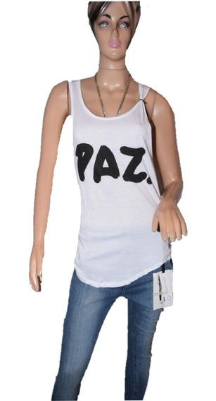Maria Cher Musculosa Paz Estampada Talle 1 Promo