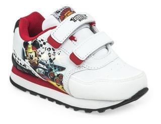 Zapatillas Disney Mickey Race Con Luces Addnice Mundo Manias