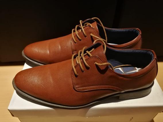 Zapatos Oxford Marrones Cedarwood Stone Ar42! Envío Gratis!