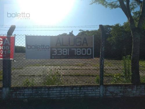 Boletto Imóveis Aluga Terreno Plano Com 8.075,00m² 60m De Frente Em Canoas/rs - Te0062