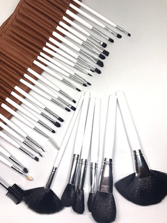Set Profesional De Brochas Para Maquillaje 32 Piezas