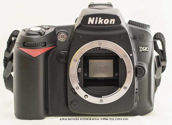 Câmera Nikon D90+lente 18-105+flash, 25 Mil Clicks.