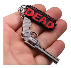 Chaveiro Da Serie The Walking Dead Revolver Rick Grimes