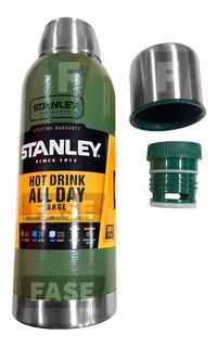 Termo Stanley 1 Litro Americano Tapon Cebador Adventure Inox