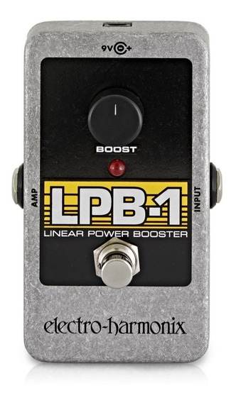 Pedal Booster Electro Harmonix Lpb-1 Booster C/ Nfe