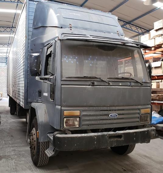 Caminhão Ford Cargo 1618 Toco Com Baú 10 Metros 7 Pneu Novo