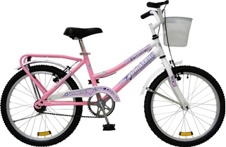 Bicicleta Tomaselli Lady Rodado 20 Dama C/ Accesorios