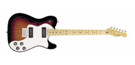 Guitarra Elect Fender Telecaster Thinline Deluxe Mod Sb