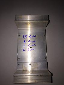 Dissipador De Alumínio 15x8x1+6cm Usado