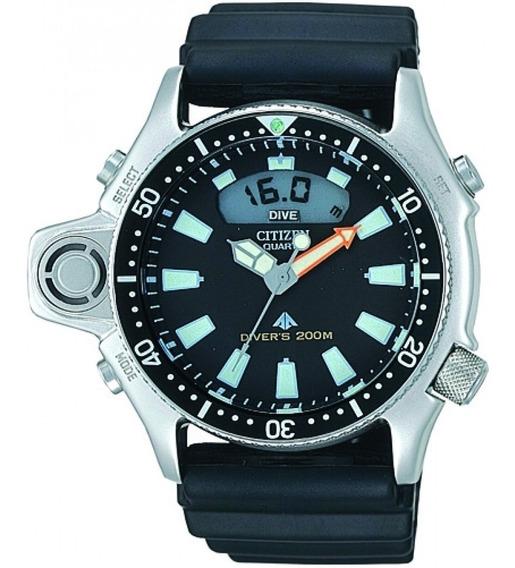 Relógio Citizen Aqualand Jp2000-08e Tz10137t Original Com Nf