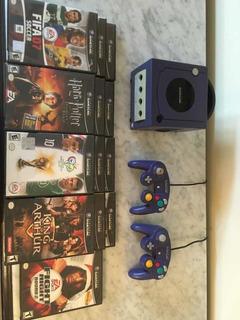Nintendo Gamecube + 1 Control Original+ 10 Juegos Originales