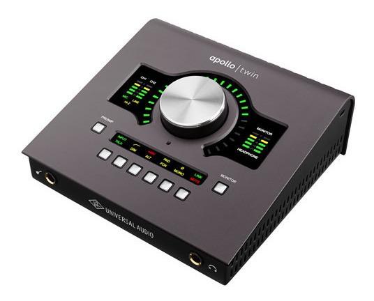 Interface Universal Audio Apollo Twin Mkii Duo (melhor Que A Prata)