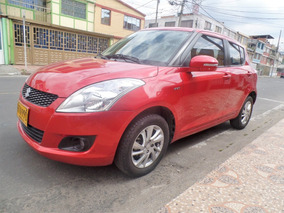 Suzuki Swift Modelo 2014 1200 Cc Color Rojo