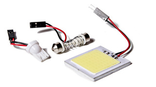 Led Cob Plafon Autoadhesivo 48 Led Blanco Interior Autos