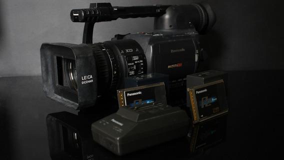 Panasonic Ag-hvx200p Com Duas Baterias E Dois Cartões 16gb