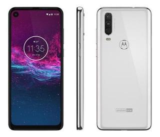Smartphone Motorola One Action 128gb Branco 4g-4gb Ram 6,3