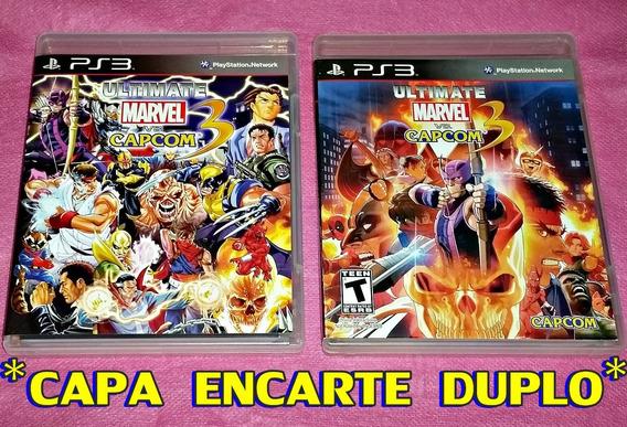 Ultimate Marvel Vs Capcom 3 - Ps3 - * Encarte Duplo