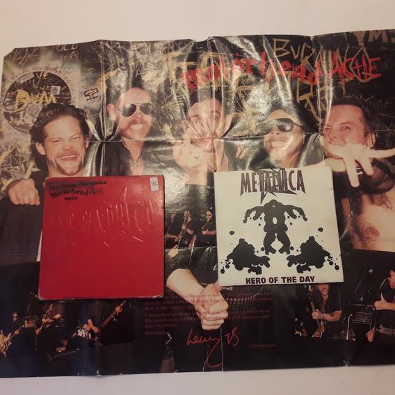 Cd Metallica - Hero Of The Day (motorhead Ache Mess) - Uk