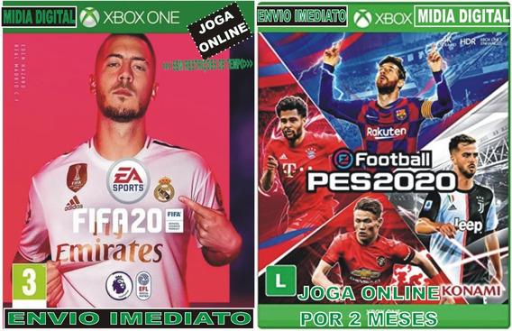 Fifa 2020, Pes 2020 Xbox One Digital Envio Imediato.